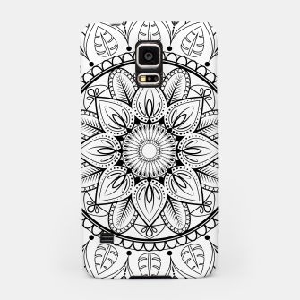 Thumbnail image of Black and White Mandala Samsung Case, Live Heroes