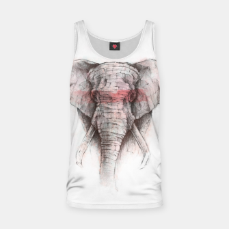 Thumbnail image of Red Stripe Tank Top, Live Heroes