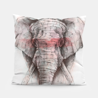 Thumbnail image of Red Stripe Pillow, Live Heroes