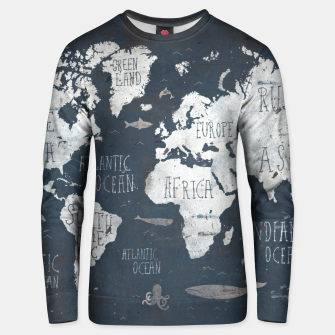 World Map Unisex sweater thumbnail image