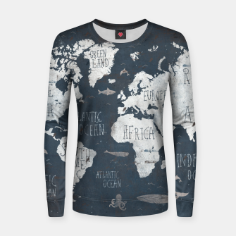 World Map Women sweater thumbnail image