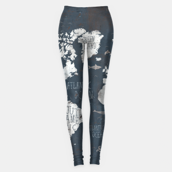World Map Leggings thumbnail image