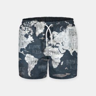 World Map Swim Shorts thumbnail image