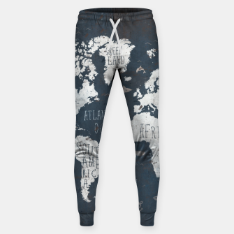 World Map Sweatpants thumbnail image