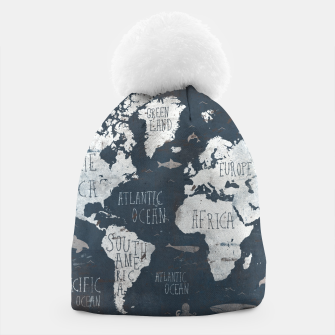 World Map Beanie thumbnail image