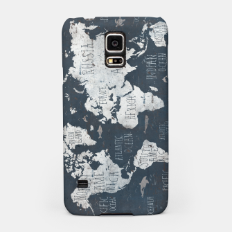 World Map Samsung Case thumbnail image