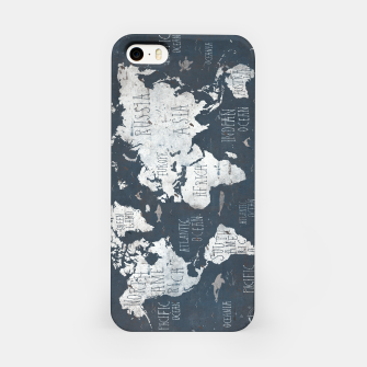 World Map iPhone Case thumbnail image