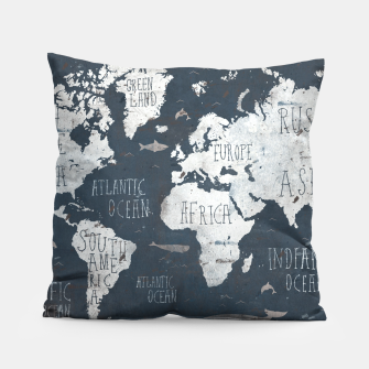 World Map Pillow thumbnail image