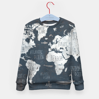 World Map Kid's sweater thumbnail image