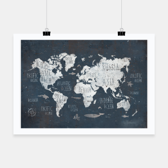 World Map Poster thumbnail image