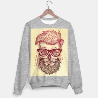 Miniature de image de Hipster is Dead Sweater regular, Live Heroes