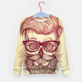 Thumbnail image of Hipster is Dead Kid's sweater, Live Heroes