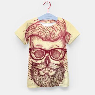 Miniature de image de Hipster is Dead Kid's t-shirt, Live Heroes