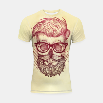 Thumbnail image of Hipster is Dead Shortsleeve rashguard, Live Heroes