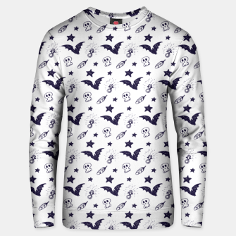 Thumbnail image of Spooky pattern  Unisex sweater, Live Heroes