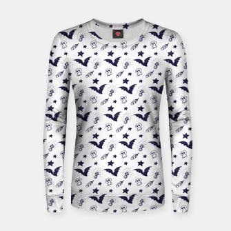 Thumbnail image of Spooky pattern  Women sweater, Live Heroes