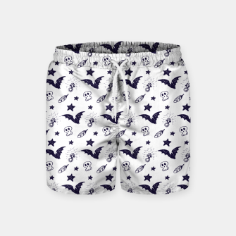 Thumbnail image of Spooky pattern  Swim Shorts, Live Heroes