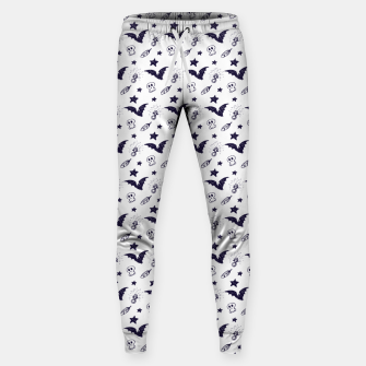 Thumbnail image of Spooky pattern  Sweatpants, Live Heroes