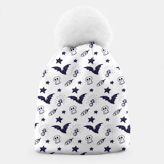 Thumbnail image of Spooky pattern  Beanie, Live Heroes