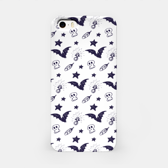 Miniatur Spooky pattern  iPhone Case, Live Heroes