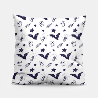 Thumbnail image of Spooky pattern  Pillow, Live Heroes