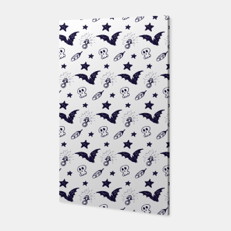 Thumbnail image of Spooky pattern  Canvas, Live Heroes