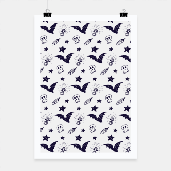 Thumbnail image of Spooky pattern  Poster, Live Heroes