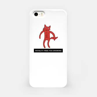 Miniaturka Royalty free fox by Adultswim iPhone Case, Live Heroes