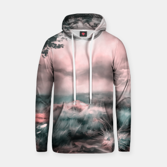 Miniatur acrylic misty forest painting 2 acr2s Hoodie, Live Heroes
