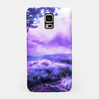 Thumbnail image of acrylic misty forest painting 2 acrdb Samsung Case, Live Heroes
