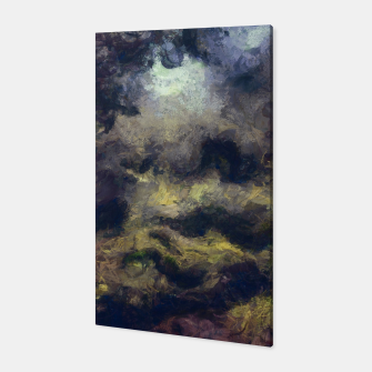 Miniatur abstract misty forest painting 2 hvhdfn Canvas, Live Heroes