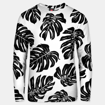 black leaves Unisex sweater thumbnail image