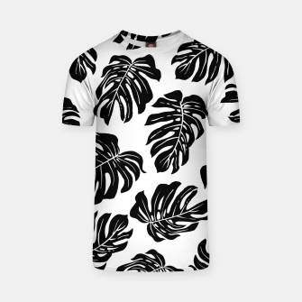 black leaves T-shirt thumbnail image