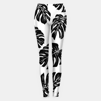 black leaves Leggings thumbnail image