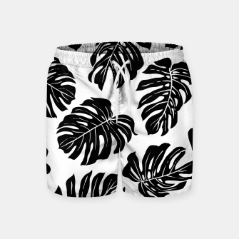 black leaves Swim Shorts thumbnail image