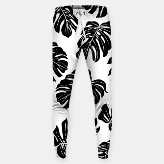 black leaves Sweatpants thumbnail image