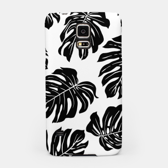 black leaves Samsung Case thumbnail image