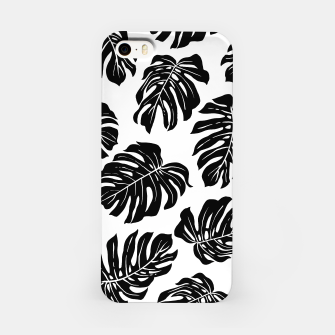 black leaves iPhone Case thumbnail image