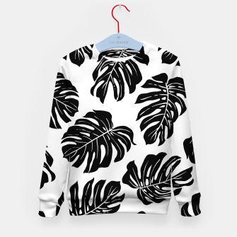 black leaves Kid's sweater thumbnail image