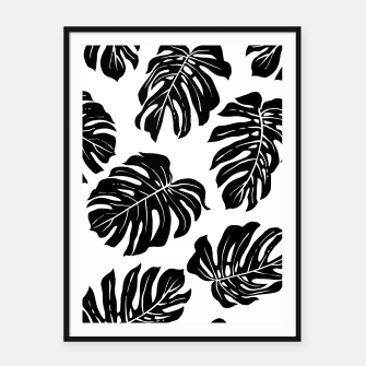 black leaves Framed poster thumbnail image