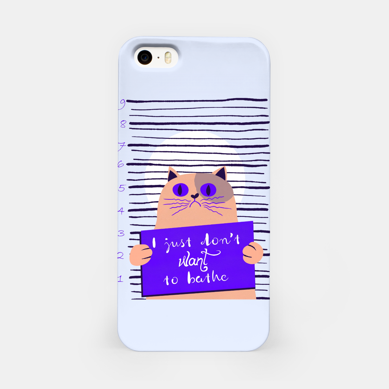 Image of I just don't want to bathe iPhone Case - Live Heroes
