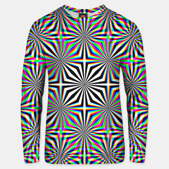 Thumbnail image of Hypnotic Pattern Unisex sweater, Live Heroes