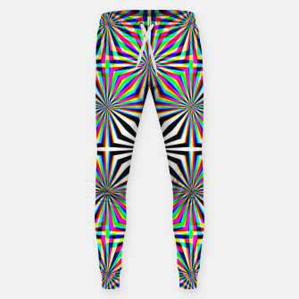 Miniatur Hypnotic Pattern Sweatpants, Live Heroes