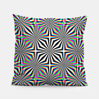 Miniatur Hypnotic Pattern Pillow, Live Heroes