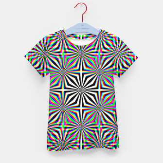 Thumbnail image of Hypnotic Pattern Kid's t-shirt, Live Heroes