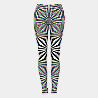 Miniatur Hypnotic Pattern Leggings, Live Heroes