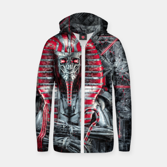 Thumbnail image of The Future King Zip up hoodie, Live Heroes