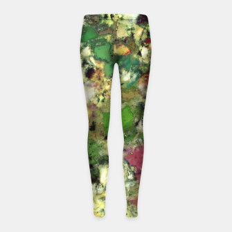 Thumbnail image of Existence Girl's leggings, Live Heroes