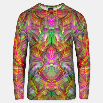 Thumbnail image of Abstract Psychedelic Unisex sweater, Live Heroes