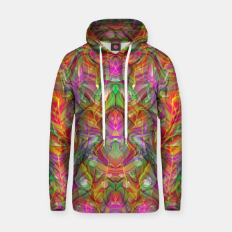 Miniatur Abstract Psychedelic Hoodie, Live Heroes
